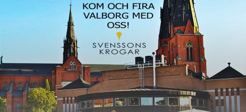 Valborg på Svenssons krogar
